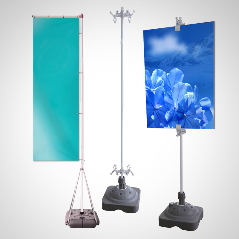 icon outdoor bannerstand